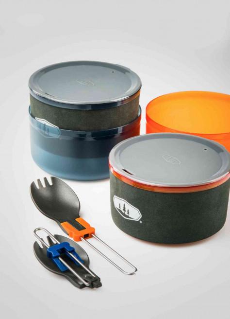 Set de cuisine pour deux - GSI Halulite microdualist II