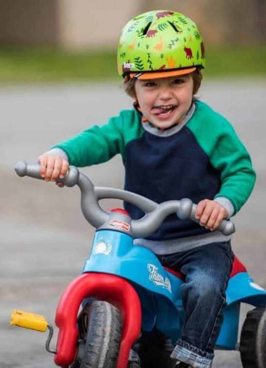Casque enfant vélo 2 à 5 ans - Bern