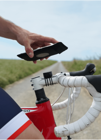 Support smartphone vélo - Shapeheart