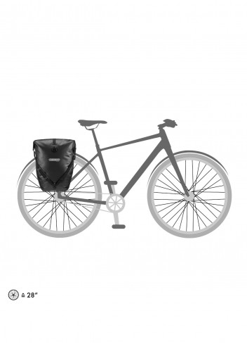 Paire de sacoches vélo étanches Back-Roller Classic - Ortlieb